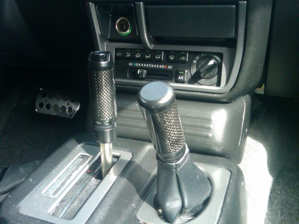 Gear Selector with Real Carbon Fiber Tube Insert and VXC Shifter Plates